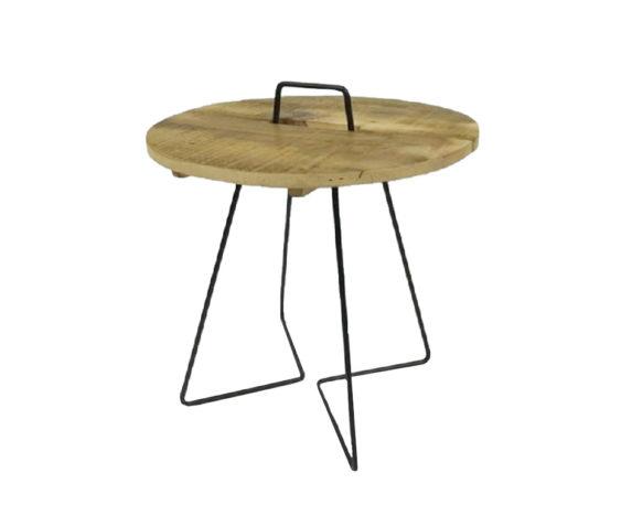 Tavolino Julien Legno/metallo