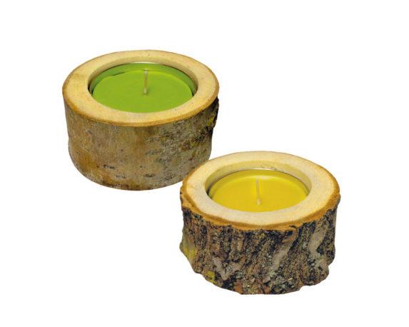 Citronella In Tronchetto Legno
