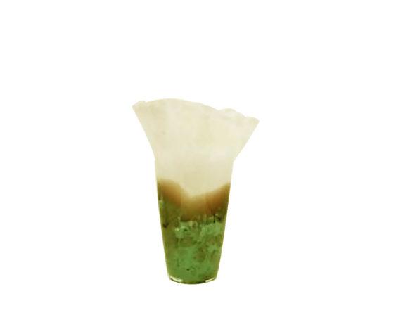 Vaso Tulipano Small Giallo/verde