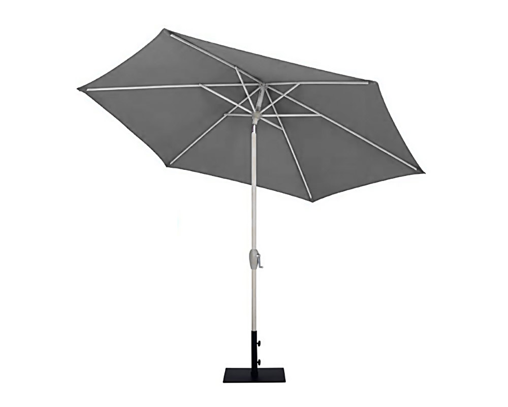 ombrellone mistral d270 alluminio grigio copertura