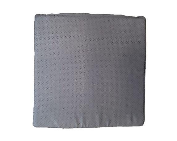 Cuscino Seduta Antiscivolo Antracite 40×40 Cotone