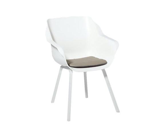 Cuscino Seduta Antiscivolo Impunture Antracite 40×40 Cotone
